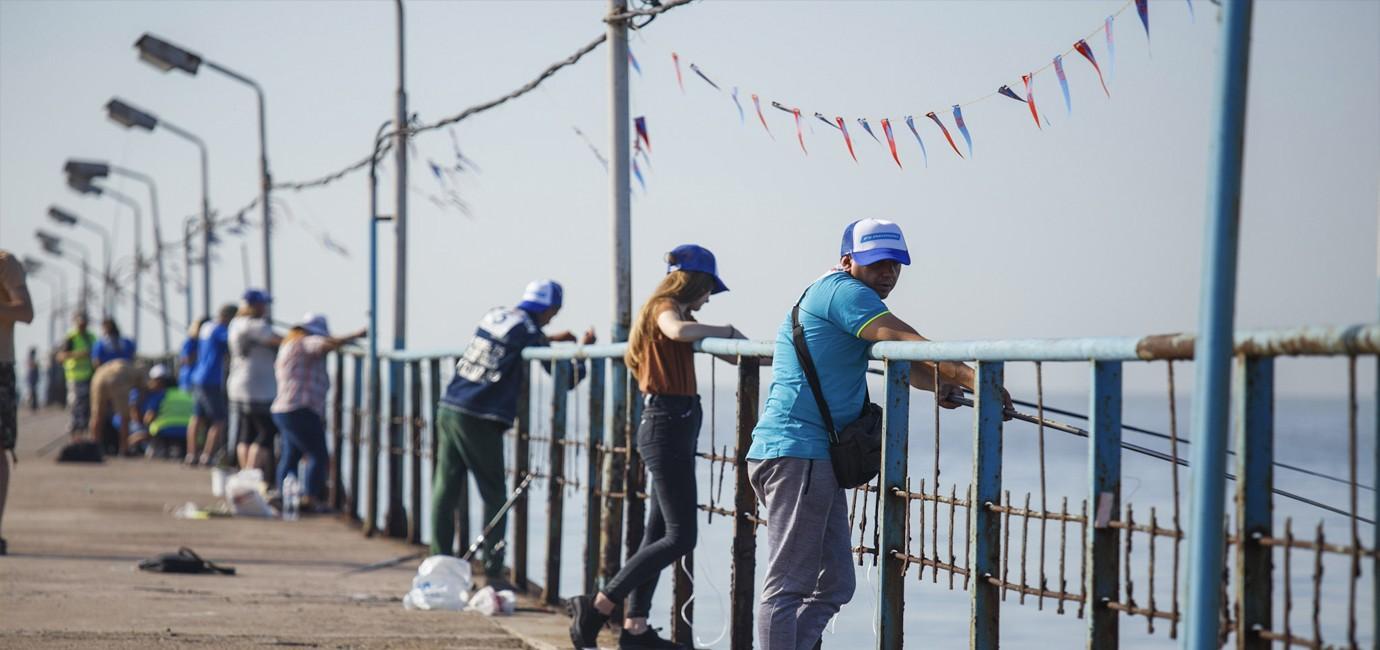 Чемпіонат з рибного лову на Goby fest