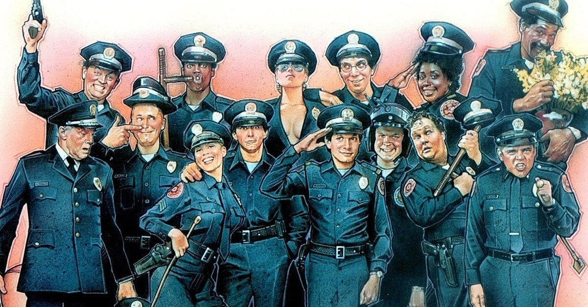 """Кінопоказ-обговорення фільму мовою оригіналу """"Police Academy"""""""