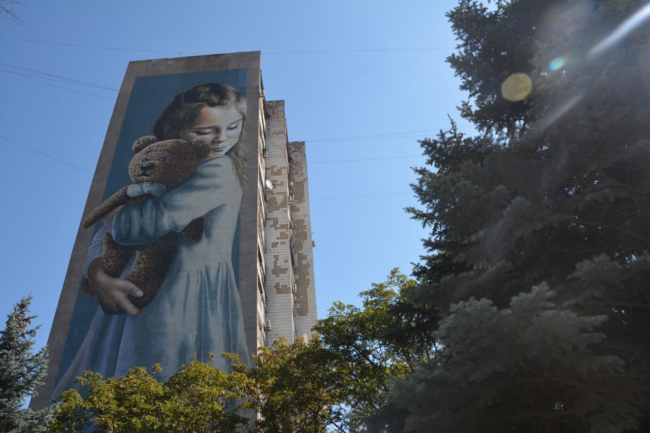 """14 серпня """"Вежа"""" запрошує на прогулянку муралами та мозаїками Маріуполя."""