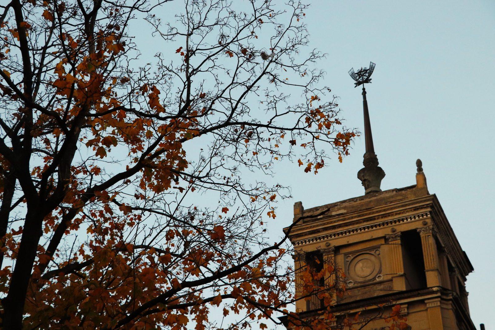 Екскурсійний розклад Вежі на останній осінній тиждень